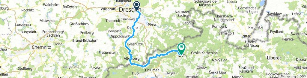Dresden - Altenberg - Decin