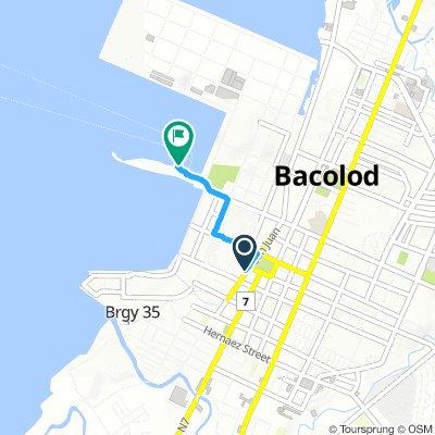 J54A - lundi 04 mars 2019 – Bacolod hôtel – Bacolod Port