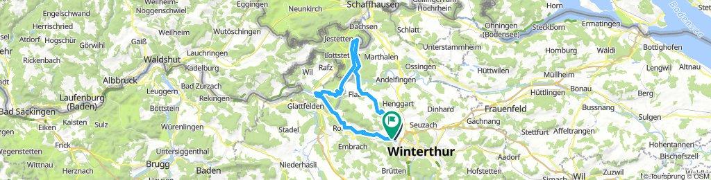Winterthur-Rheinau-Eglisau-Winterthur