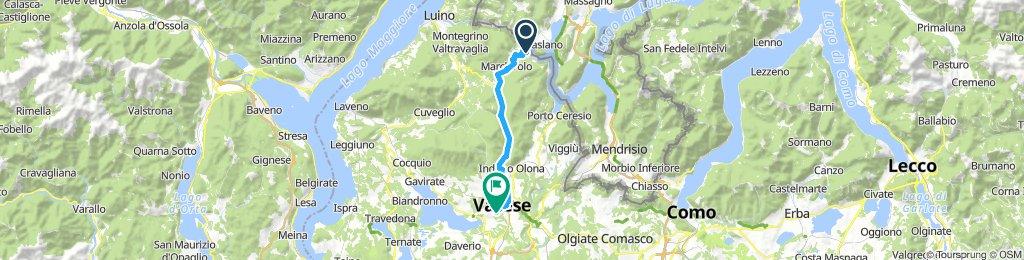 Ponte Tresa to Varese