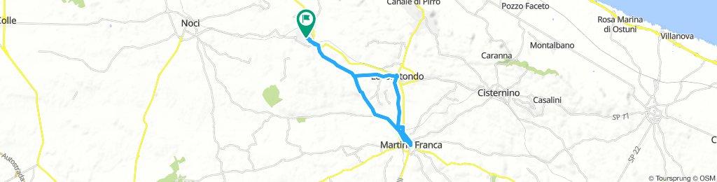 DAY 5: ALBEROBELLO – LOCOROTONDO – MARTINA FRANCA – ALBEROBELLO