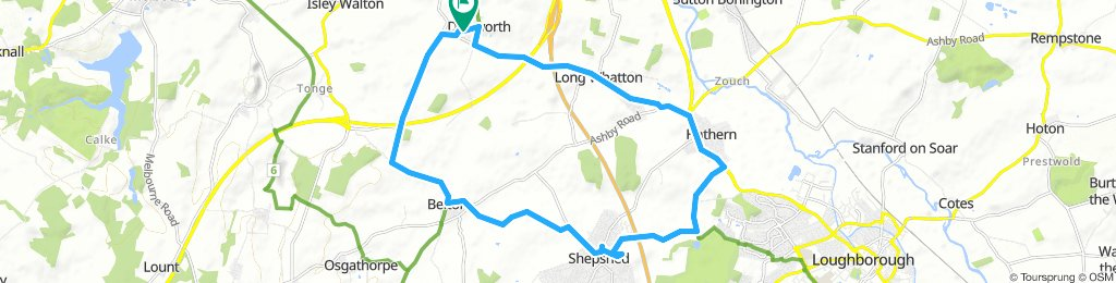 Belton Shepshed Route 6 circuit