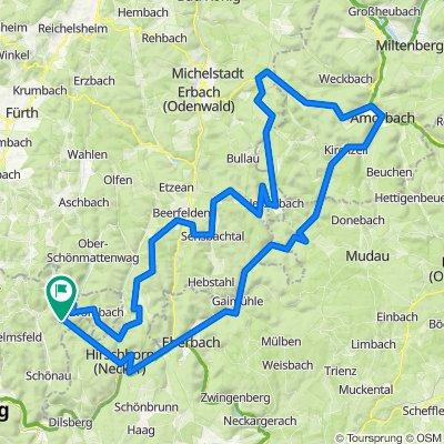 Odenwald ab Heddesbach