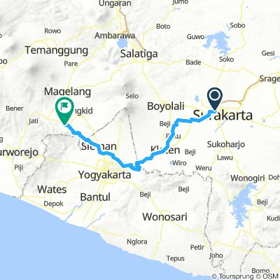 Tour Solo Prambanan Borobudur