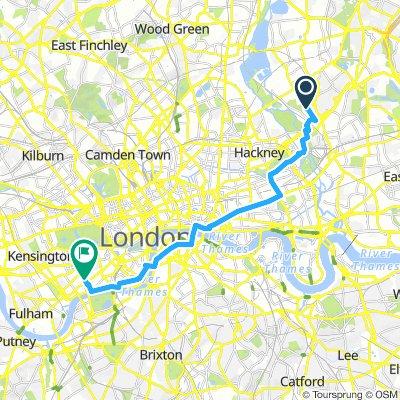 brzi izlazak Putney London