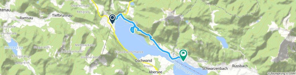 FALKENSTEINWEG - Der Weg der Wallfahrer am Wolfgangsee