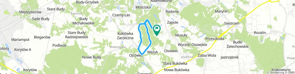 Moderate route in Żabia Wola