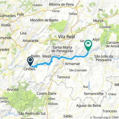 Porto Antigo to Pinhao