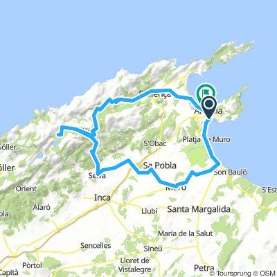Col Reis Ü. Caimari-2019 100/1150 Can Pic. - Muro - Buger - Campanet - Selva -Caimari - Kloster Lluc - Aussicht Col Reis / Sa Calobra - Pollenca - P.A.