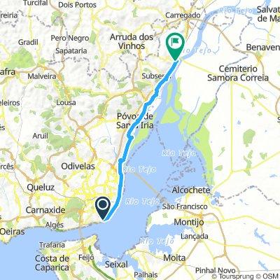 Lisbon to Villa Franca Day #1 March 20th