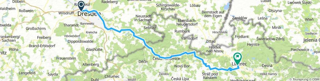 Dresden-Jeschken/Liberec