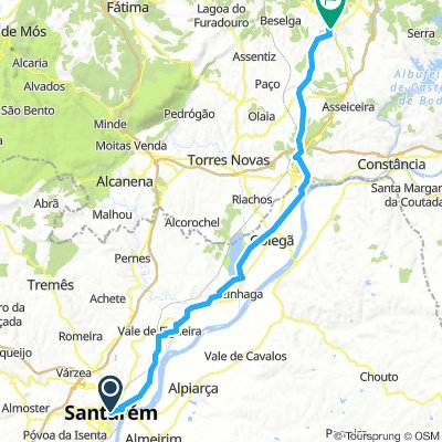 Santarem to Tomar Day #3 March 22nd