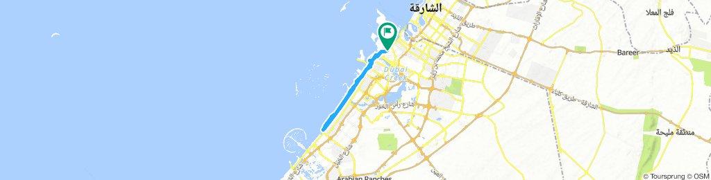 Al Baraha to Burj Al Arab