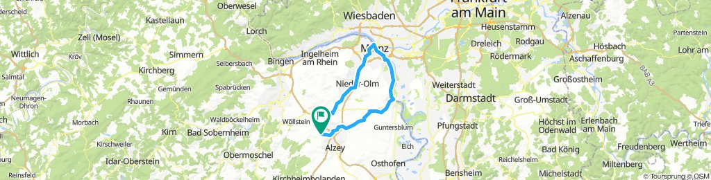 Bornheim - Mainz - Bornheim