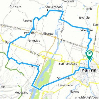 Itinerario del Parmigianino: Parma - Noceto - Fontanellato - San Secondo Parmense