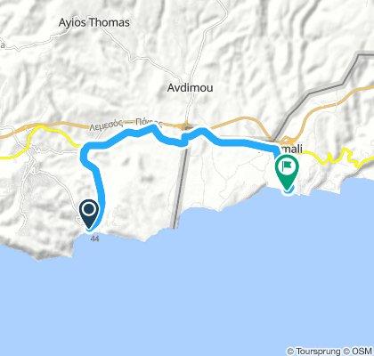 e-asyGo.com Tour 4 Pissouri Bay - Paramali Beach