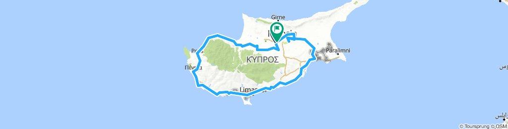 CYPRUS FIETSROUTE (gpx)