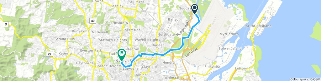 Bikeriders Nudgee to Gordon Park