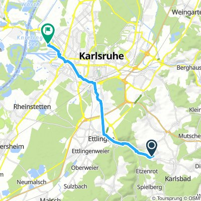 BB > KA Rheinhafen