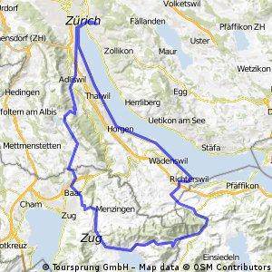 Zuerich-Richterswil-Raten-Ägeri-Albis-Zuerich