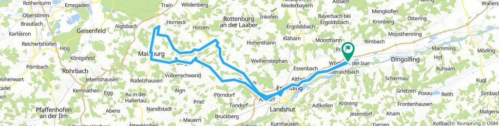 Wörth-Altdorf-Schatzhofen-Mainburg-Ratzenhofen-Pfeffenhausen-Altdorf-Ergolding-Wörth