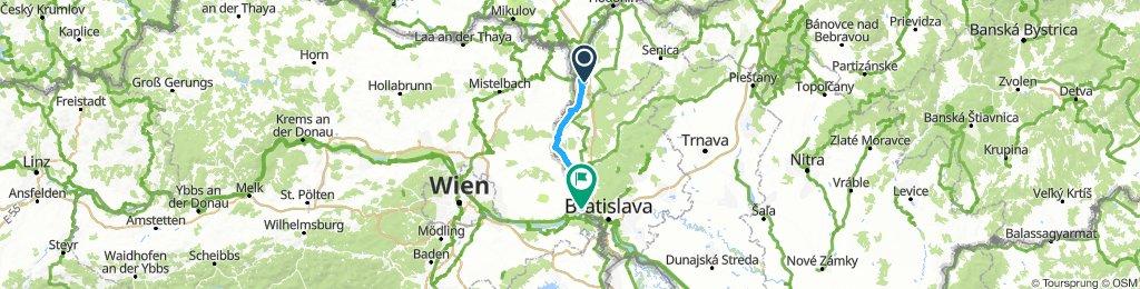 Moravský Sv. Ján - Devín