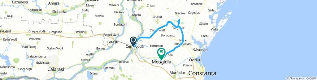 Cernavoda - Cheile Dobrogei - Medgidia