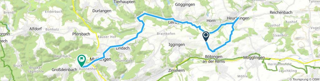 Moderate Route in Schwäbisch Gmünd