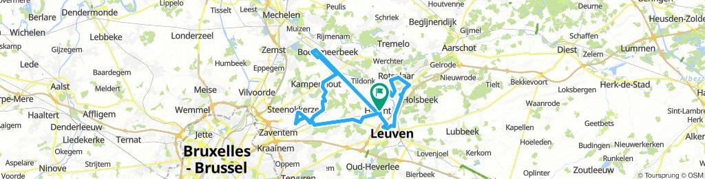 Rondje in Vlaams-Brabant