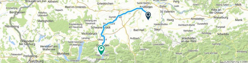 Weichstetten - Traunkirchen - Traunradweg R4