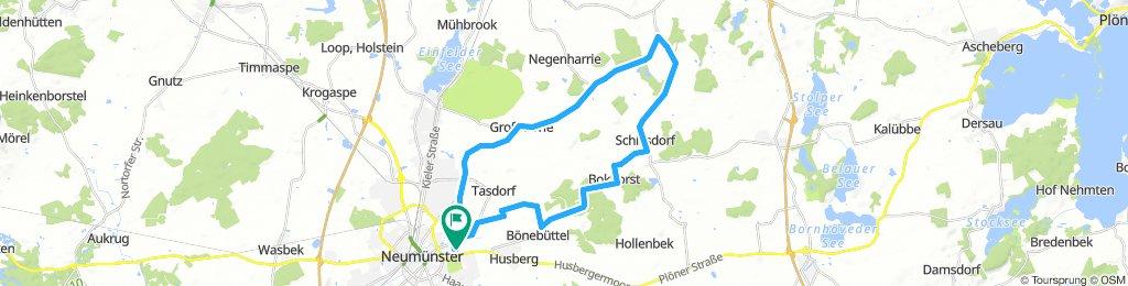 Rundtour NMS - Ost Großharrie - Bokhorst