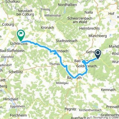 Bischofsgrün, Allemagne / Lichtenfels, Allemagne