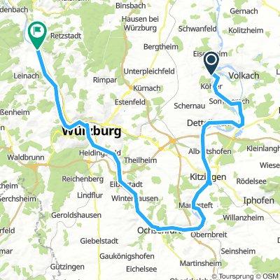 Volkach, Allemagne / Zellingen, Allemagne
