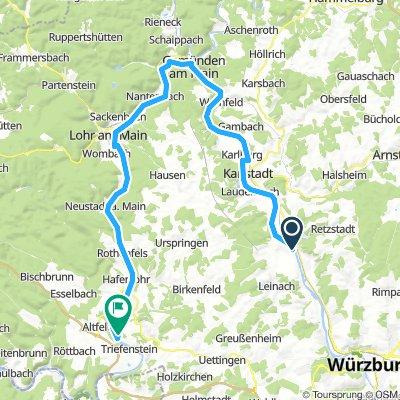 Zellingen, Allemagne / Triefenstein, Allemagne