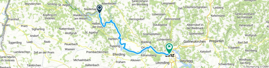 Tag 2 Obermühl - Linz