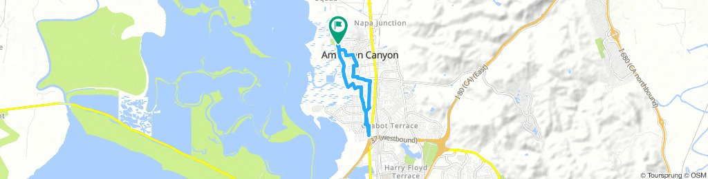 Easy ride in American Canyon