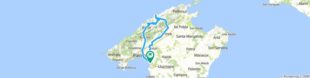 RR-Runde Palma - Soller - Gorg Blau - Sa Calobra