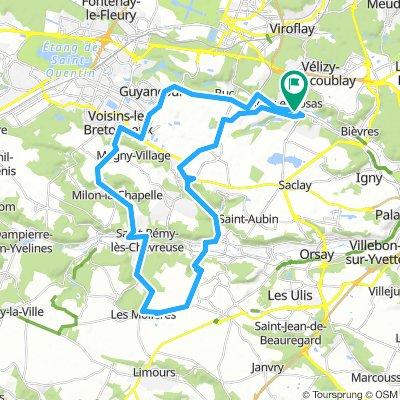 Route 47 KM Jouy en josas