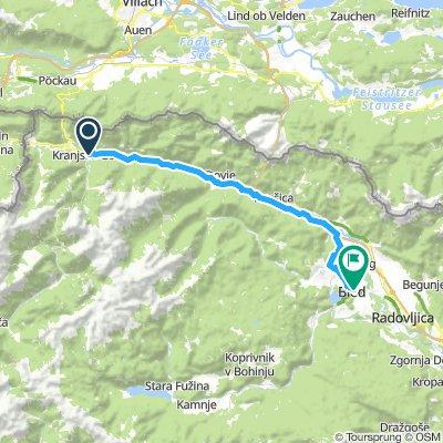 Kranjska Gora - Bled
