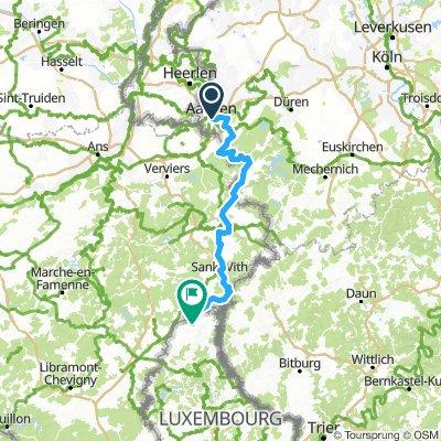 Vennbahn Aachen - Troisvierges