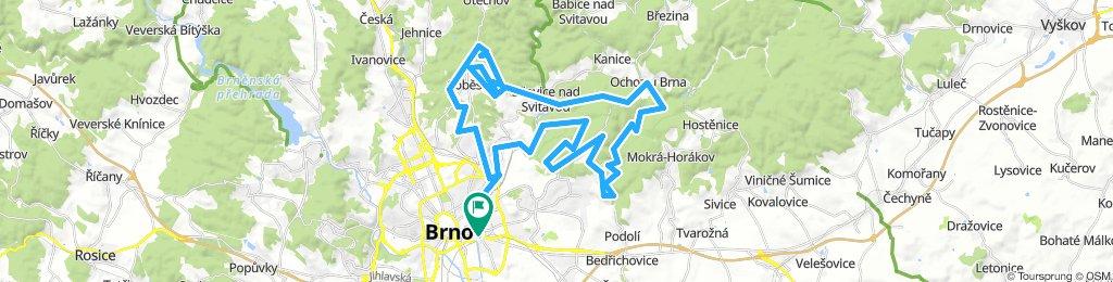 Jarní brněnská MTB ride 2019