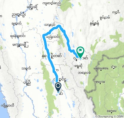 115 to Loikaw (by Bus)