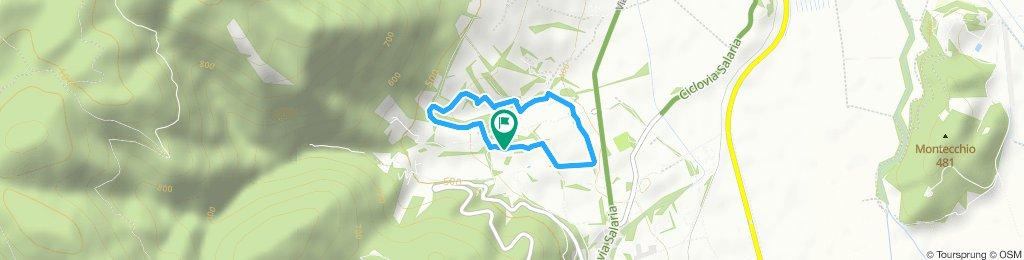 percorso 3 km