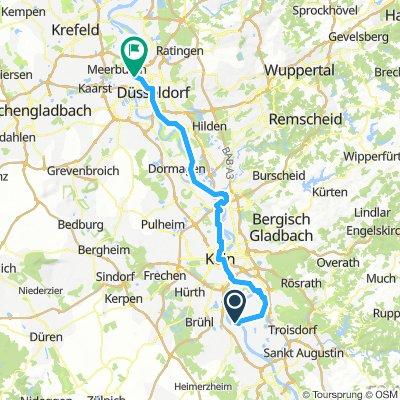 Niederkassel, Allemagne / Düsseldorf, Allemagne