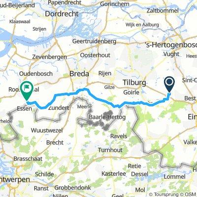 Oirschot, Pays Bas / Nispen, Pays-Bas