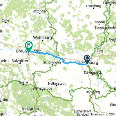 BS - Magdeburg  100km