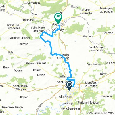 Dag 8 - Le Mans - Alençon (do 18/7)