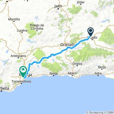 Guadix-Malaga (3 días)
