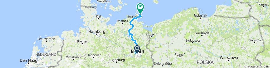 Longboard Tour 2019 Berlin-Rügen