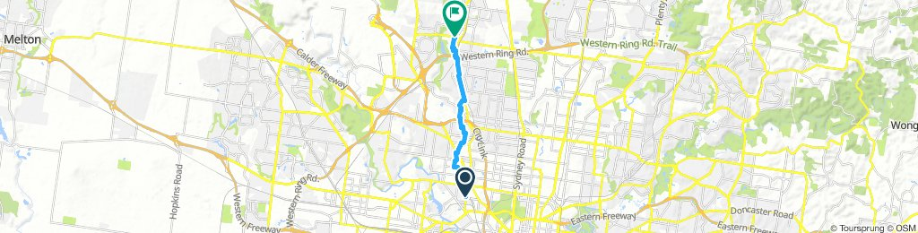 Easy ride in Ascot Vale